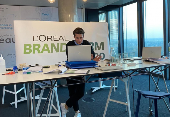 L'Oréal: digitaler Brandstorm Innovationswettbewerb